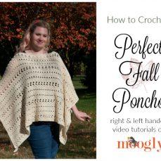 Perfect Fall Poncho Tutorial