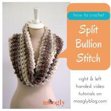Split Bullion Stitch Tutorial