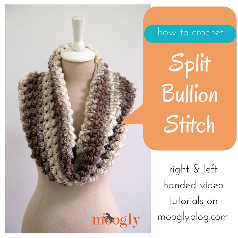 Split Bullion Stitch Tutorial