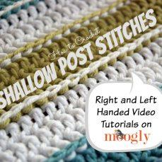 Shallow Post Stitches Tutorial