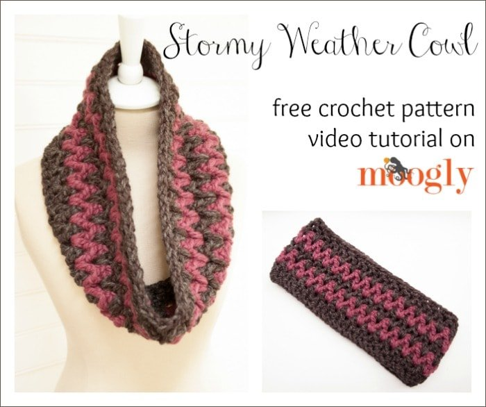 Stormy Weather Cowl Tutorial and Free Pattern