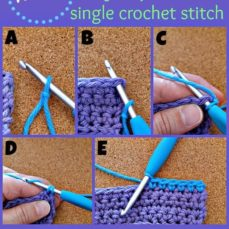Learn how to use the Single Crochet Stitch Joining Method