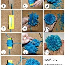 Learn how to make an old-fashioned Pom Pom