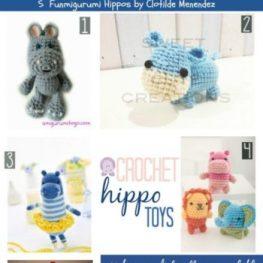Crochet Hippo Toys