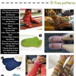Simple Socks You Can Crochet