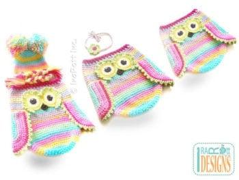Ira Rott Owl Baby Cocoon Pattern