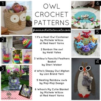 Owl Crochet Patterns