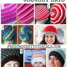 REVERSIBLE CROCHET HATS