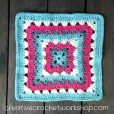 Spiked Row Granny Square Tutorial