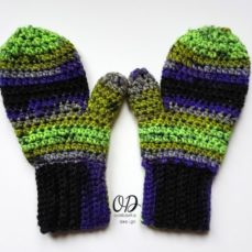 Crochet Mittens Tutorial