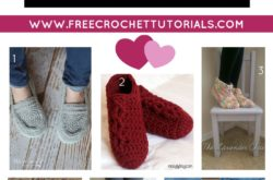 10 FREE Video Crochet Patterns for Slippers