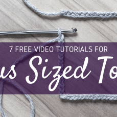 7 Free Video Crochet Patterns for Plus Sized Tops