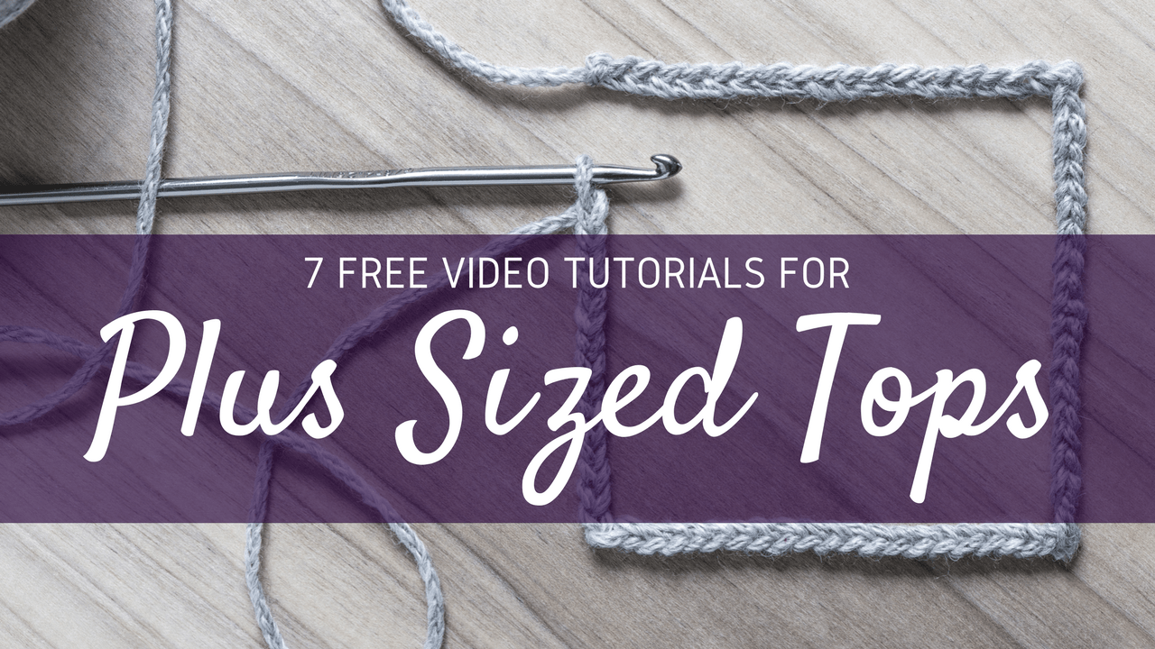 7 Free Video Tutorials for plus sized tops