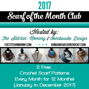 Scarf of the Month Club 2017