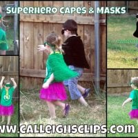 Superhero Cape and Mask – Pattern Lookup Request