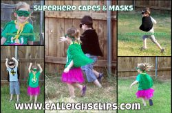 Superhero Capes and Masks Pattern Lookup Request