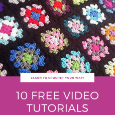 10 FREE Video Tutorials for Joining Granny Squares
