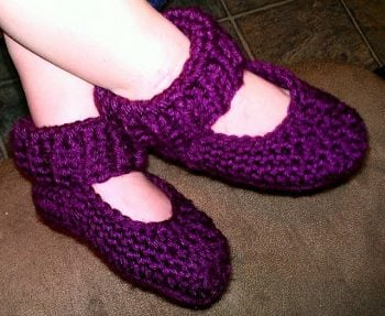 Ribbed Winter Slippers Toddlers MNE Crafts