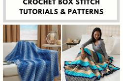 Crochet Box Stitch Tutorials and Patterns