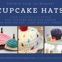 Pattern Lookup Request for Baby Cupcake Hat Patterns FreeCrochetTutorials