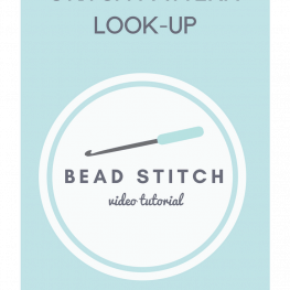 Stitch Pattern Lookup Bead Stitch