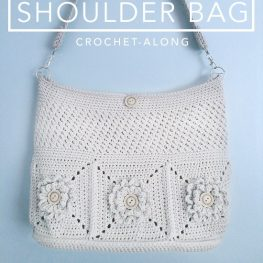Wildflower Shoulder Bag - Little Monkeys Crochet