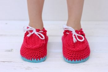 Toddler Boat Slippers - Make and DO Crew