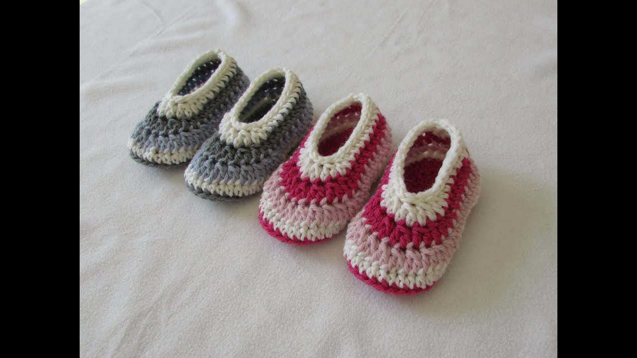 10 Free Patterns For Toddler Sized Slippers Free Crochet Tutorials