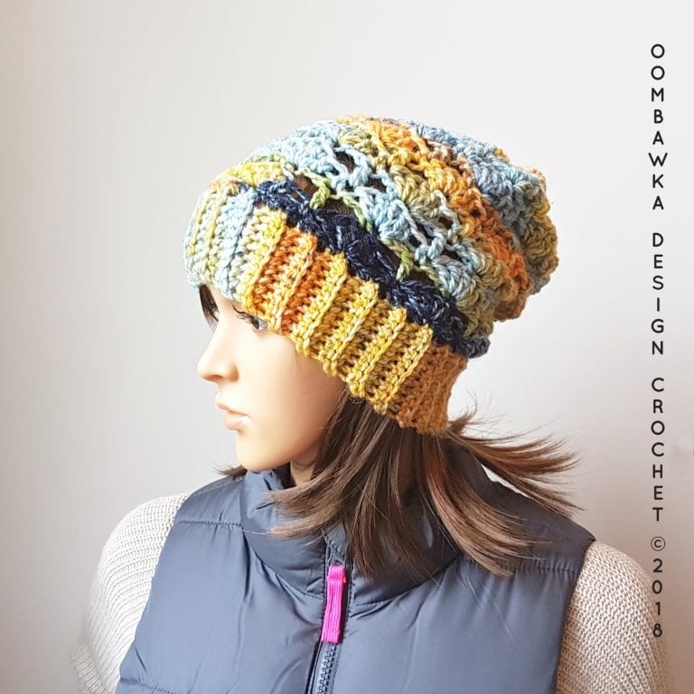 Cozy Hugs Hat and Scarf Stitch Tutorial