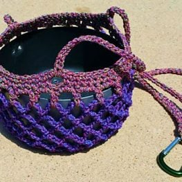 Pot Hanger Crochet Pattern by Snappy Tots