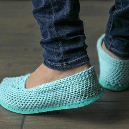 Crochet Flip Flop Slipper Pattern