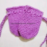Thumbless Baby Mittens Pattern and Tutorial