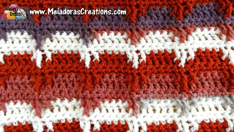 Bear Claw Crochet Stitch Tutorial