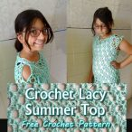 Crochet Lacy Summer Top