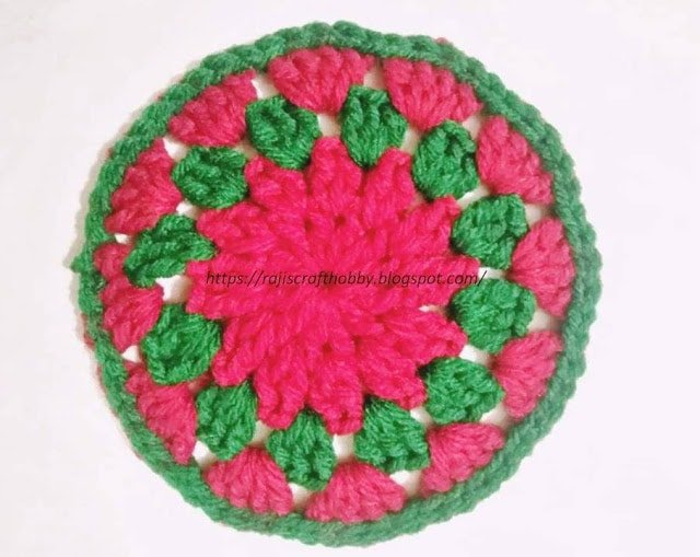 Christmas Themed Crochet Coasters Free Crochet Tutorials