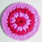 Puff Stitch Coaster Pattern and Tutorial