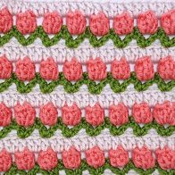 Tulip Stitch Crochet Pattern and Tutorial