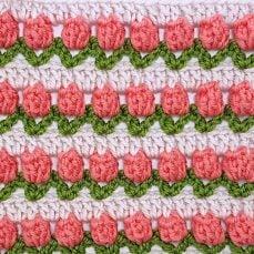 Crochet Tulip Stitch Tutorial