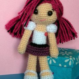 Amigurumi Doll Body Pattern, Crochet Mini Amigurumi Doll, Little ... | 263x263
