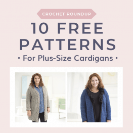 10 Free Patterns for Plus Size Cardigans Free Crochet Tutorials