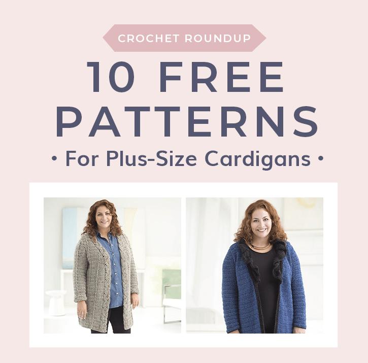 bbd06800550213 10 Plus Size Cardigan Crochet Patterns • Free Crochet Tutorials