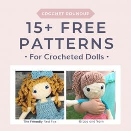 15+ Free Patterns for Crocheted Dolls.