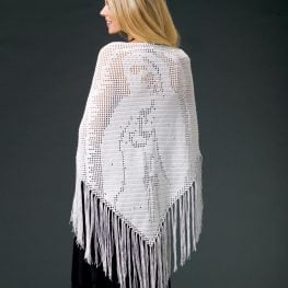 Blessed Mother Prayer Shawl