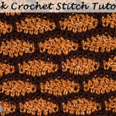 Brick Stitch pattern photo tutorial