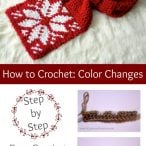 Crochet Color Change Photo Tutorial