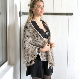 Durable Friendship Shawl by Wilma Westenberg