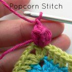 How to Crochet the Popcorn Stitch, Regular