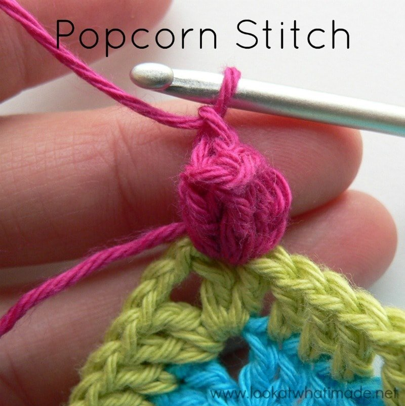 How to Crochet the Popcorn Stitch, Regular