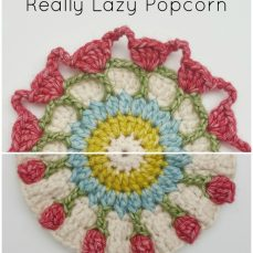 How to Crochet the Really Lazy Popcorn Stitch Version