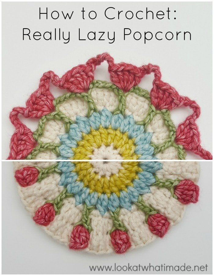 How to Crochet the Really Lazy Popcorn Stitch Version